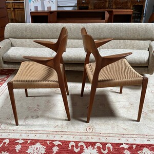 Set of 7 Moller Model 71 Dining Chairs