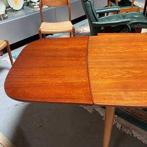 Kurt Ostervig Designed Danish Draw Leaf Dining Table