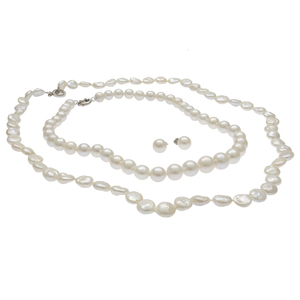 Collection of Cultured Fresh Water Pearl Jewelry