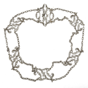 Victorian Sterling Silver Belt