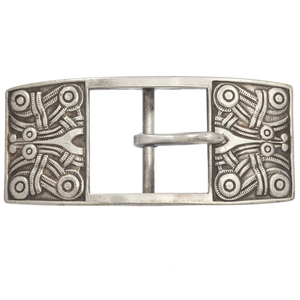 David Andersen Sterling Silver Belt Buckle