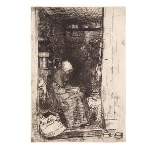James Abbott McNeil Whistler, La Vieille Aux Loques