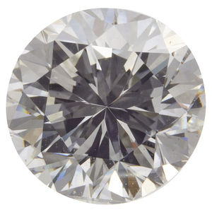 Unmounted Round Brilliant-Cut Diamond