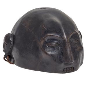 Ifugao Patinated Wooden Helmet Hat