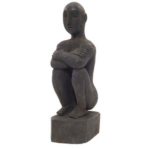 Ifugao Wooden Bulul Figure