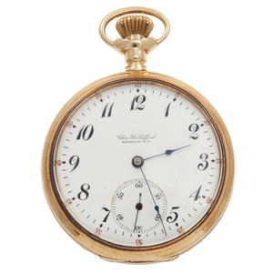 14k Rose Gold Gent's Pocket Watch