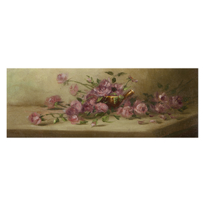 Attributed to Alice B. Chittenden, Pink Roses