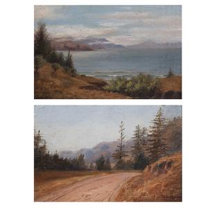 Annie Harmon, Pair of Landscapes