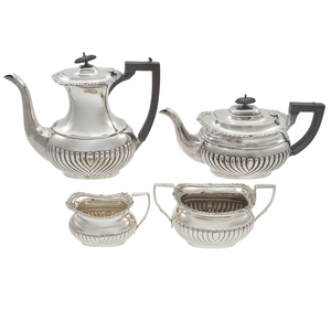 George V Sterling Tea and Coffee Service