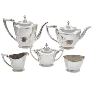 Georgian Style Sterling Tea and Coffee Set