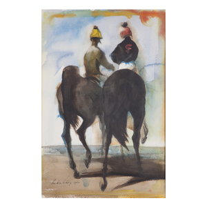 Frank Nelson Ashley, Jock and Pony Boy, 1962