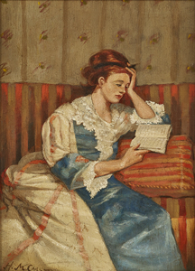 Henry Marvell Carr, Young Woman Reading