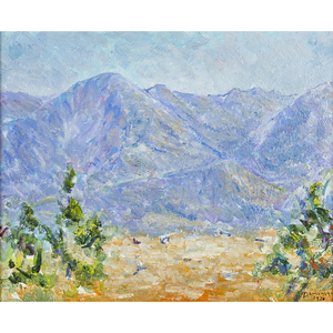John A. Dominique, Mountains near Ojai, 1976