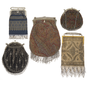 Collection of Art Deco Beaded Handbags