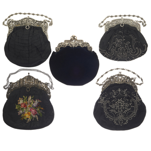 Art Nouveau Style Vintage Handbags
