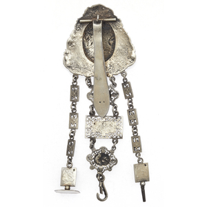 Victorian Sterling Silver Chatelaine