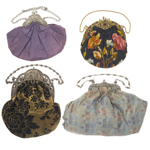 Art Nouveau Vintage Silk Handbags