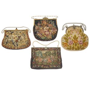 Vintage Petit Point Handbags 1920's