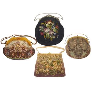 Vintage Bakelite and Beaded Handbags