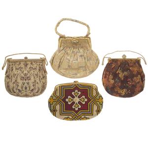 Vintage Silk and Beaded Handbags