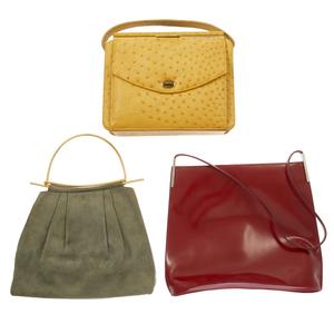A Furla and Vintage Handbags