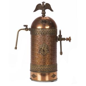 Cappamore Copper and Brass Espresso Maker