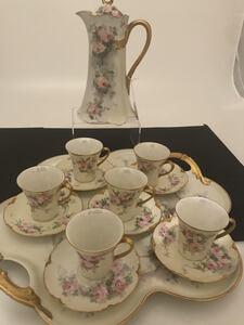 Haviland Porcelain Chocolate Set