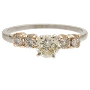 Diamond, 14k White Gold Ring