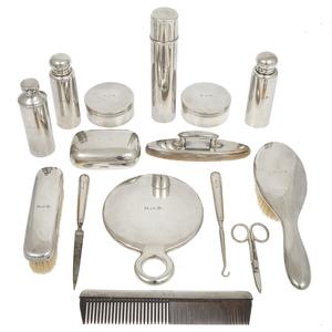 Tiffany & Co. Sterling Vanity Set