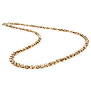 14k Yellow Gold Fancy Link Chain