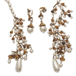 Miriam Haskell Jewelry Suite