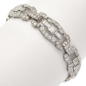 Art Deco Diamond, Platinum Bracelet