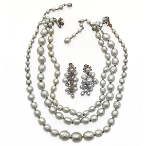 Group of Miriam Haskell Faux Pearl Jewelry