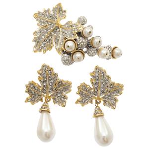 De Liguoro Costume Couture Jewelry Suite
