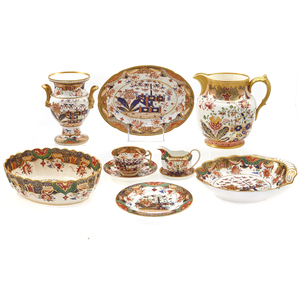 A Collection of Spode Copeland Imari Pattern
