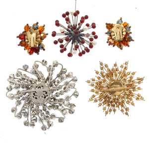 Collection of 1950-60s Vintage Jewelry