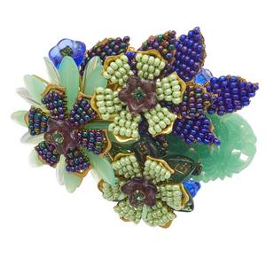 Stanley Hagler Flower Brooch