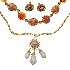 Collection of Vintage Miriam Haskell Jewelry