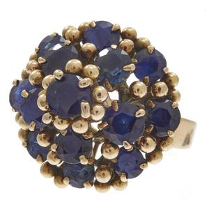 Sapphire, 14k Yellow Gold Ring