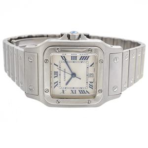 Cartier Santos Stainless Steel Wristwatch