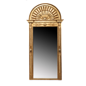 Louis XIV Style Mirror and Console
