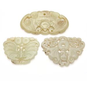 Three Jade Pendants