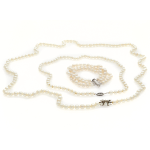 Collection of Cultured Pearl Jewelry