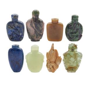 Eight Stone Snuff Bottle