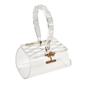 Florida Handbags Lucite Bag