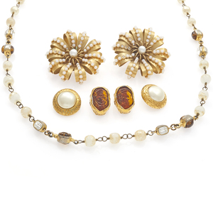 Collection of Chanel, Karl Lagerfeld Jewelry Items