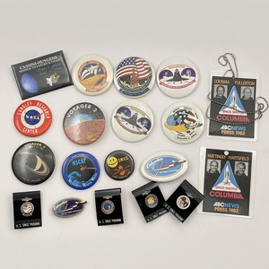 Large Lot of NASA Space Program Buttons
