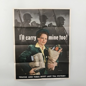 Lot of 2 Original WWII Posters