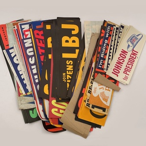 Vintage Political Campaign Bumper Stickers